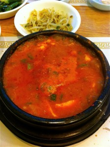 Beef Soondubu Jjigae